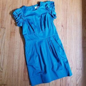 Jessica Simpson Shift Dress Teal 8